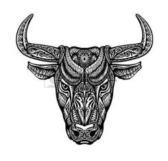 62204931-bull-taurus-painted-tribal-ethnic-ornament-vector-illustration