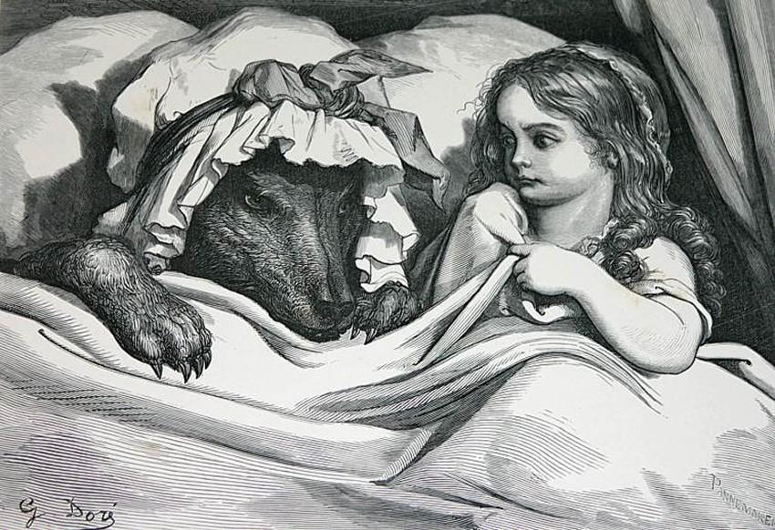 Little Red Riding Hood? FAKE NEWS! | by Daniel Berenson | Medium